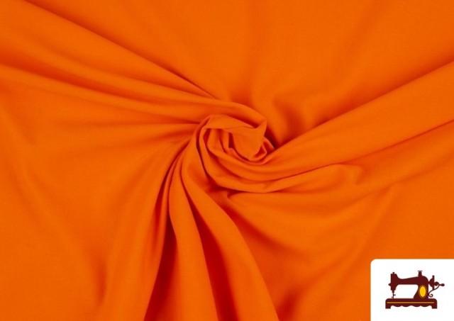 Tissu de Tee-Shirt de Couleurs couleur Orange