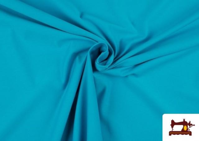 Tissu de Tee-Shirt de Couleurs couleur Bleu turquoise