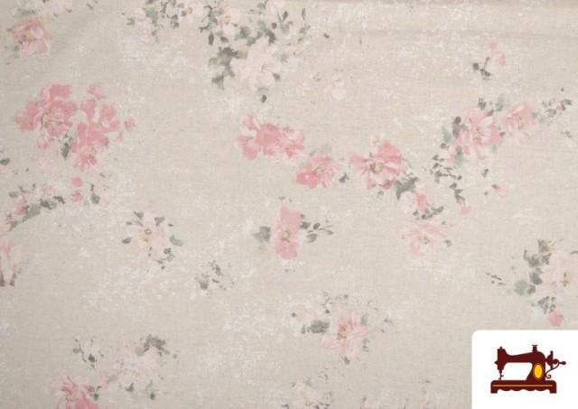 Acheter Tissu Vintage avec Imprimé Floral Coordonné Grand