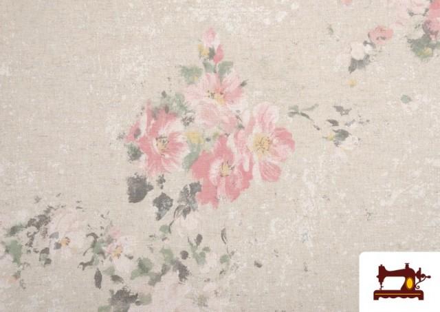 Acheter en ligne Tissu Vintage avec Imprimé Floral Coordonné Grand