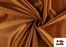 Tissu Satiné/Ketten de Couleurs couleur Bronzé