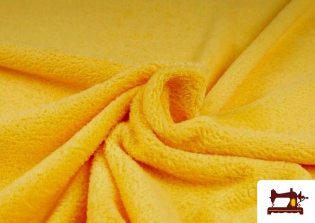 Vente de Tissu en Coraline de Couleurs couleur Jaune
