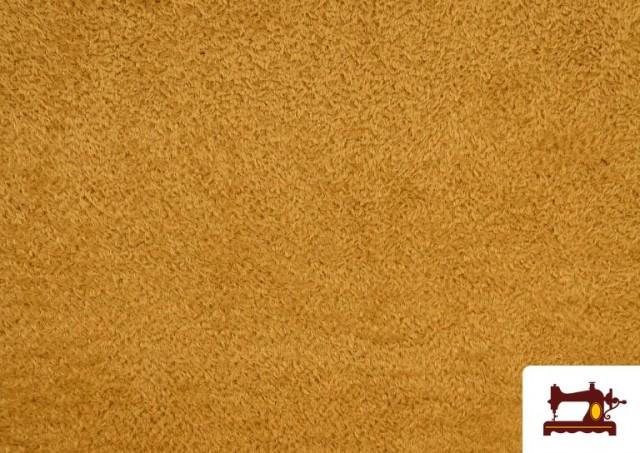 Vente en ligne de Tissu en Coraline de Couleurs couleur Bronzé