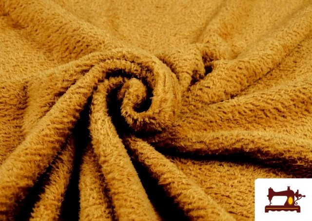 Tissu en Coraline de Couleurs couleur Bronzé