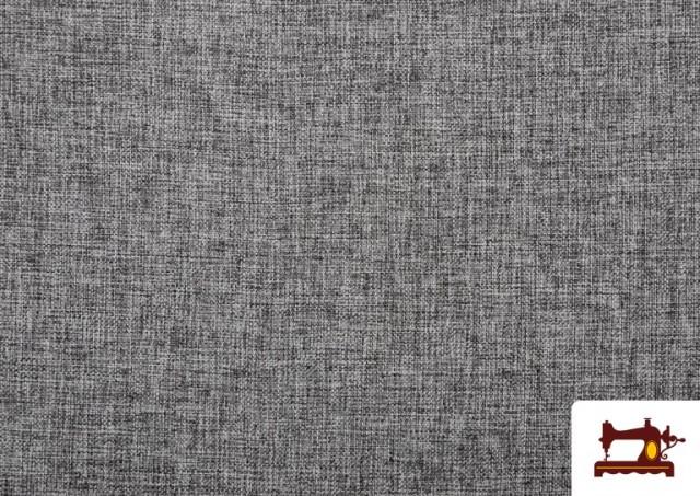 Acheter Tissu pour Tapisserie Tissé Bicolore couleur Gris clair