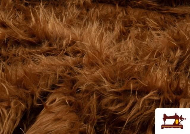 Vente en ligne de Tissu à Poil Long de Couleurs couleur Bronzé