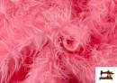 Acheter Tissu à Poil Long de Couleurs couleur Rosé