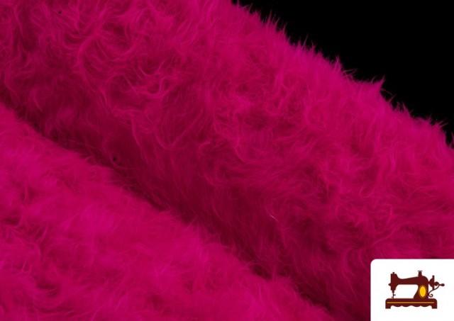 Vente en ligne de Tissu à Poil Long de Couleurs couleur Fuchsia