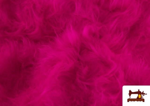 Acheter Tissu à Poil Long de Couleurs couleur Fuchsia