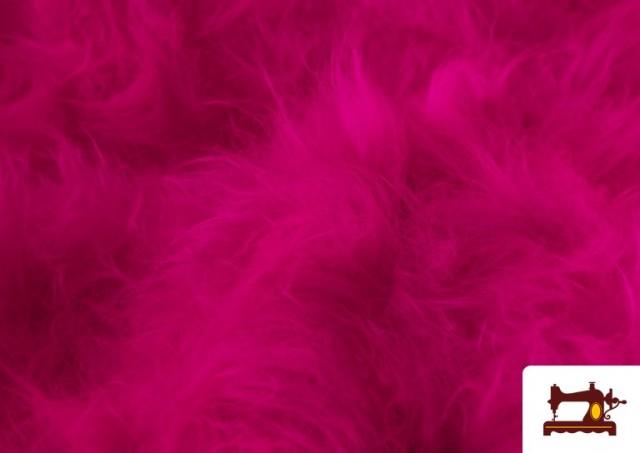Vente de Tissu à Poil Long de Couleurs couleur Fuchsia