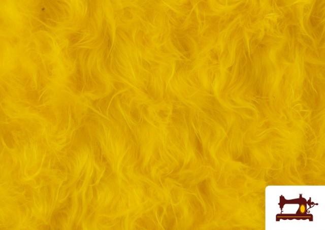 Acheter Tissu à Poil Long de Couleurs couleur Jaune