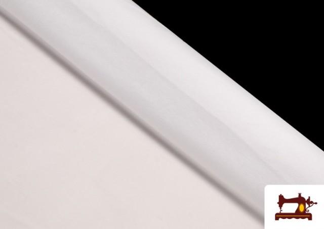 Acheter Tissu en Daim de Couleurs couleur Blanc