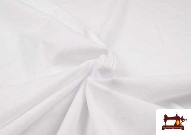 Vente en ligne de Tissu en Daim de Couleurs couleur Blanc