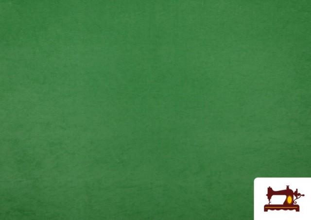 Vente en ligne de Tissu en Daim de Couleurs couleur Vert