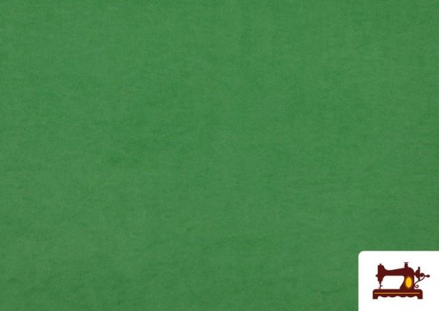 Tissu en Daim de Couleurs couleur Vert