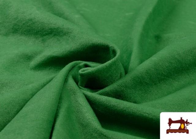 Acheter Tissu en Daim de Couleurs couleur Vert