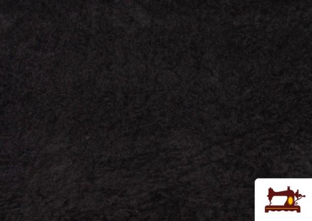 Vente en ligne de Tissu en Daim de Couleurs couleur Noir