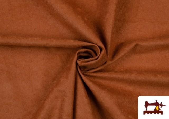 Acheter Tissu en Daim de Couleurs couleur Bronzé