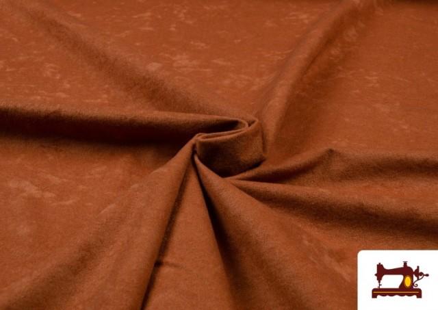 Vente de Tissu en Daim de Couleurs couleur Bronzé