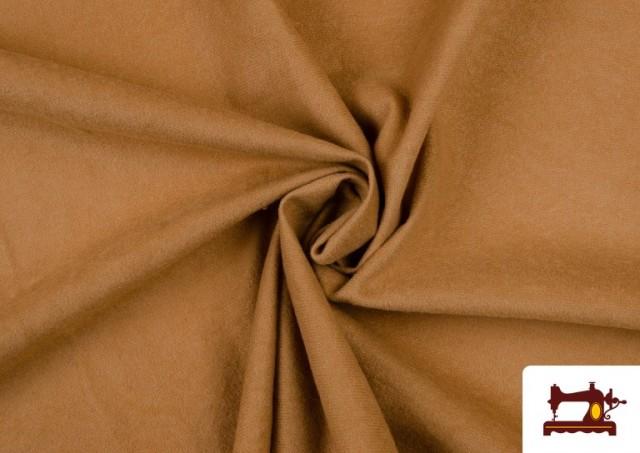 Tissu en Daim de Couleurs couleur Sable