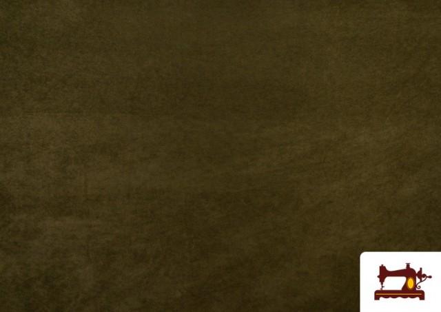 Vente de Tissu en Daim de Couleurs couleur Kaki