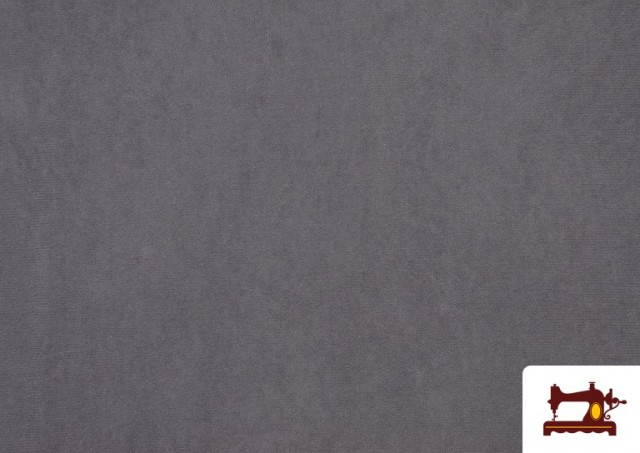 Acheter Tissu en Daim de Couleurs couleur Gris