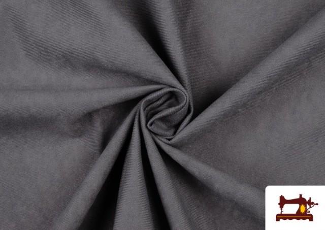 Vente de Tissu en Daim de Couleurs couleur Gris