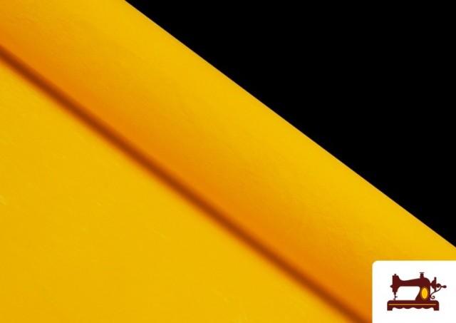 Tissu en Daim de Couleurs couleur Jaune