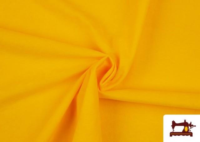 Acheter Tissu en Daim de Couleurs couleur Jaune