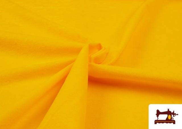 Vente de Tissu en Daim de Couleurs couleur Jaune
