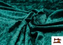 Vente en ligne de Tissu en Velours Économique couleur Vert Bouteille