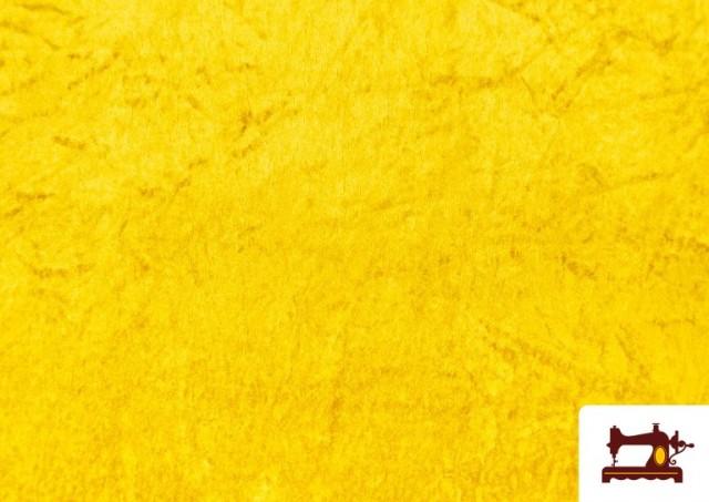 Tissu en Velours Économique couleur Doré