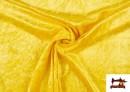 Acheter en ligne Tissu en Velours Économique couleur Jaune
