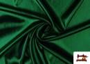 Tissu en Lamé Économique de Couleurs Metalisées couleur Vert