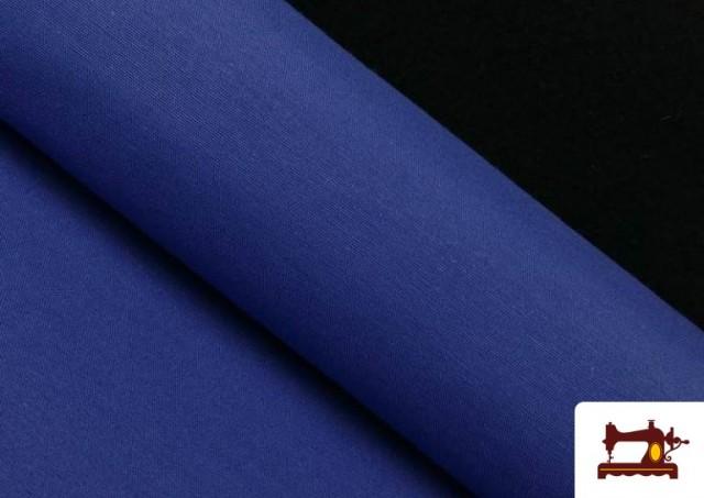 Vente de Tissu en Canvas de Couleurs couleur Gros bleu