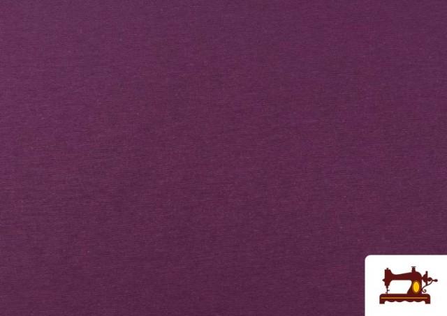 Vente en ligne de Tissu en Canvas de Couleurs couleur Mauve noire