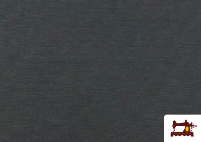 Acheter Tissu en Canvas de Couleurs couleur Gris foncé