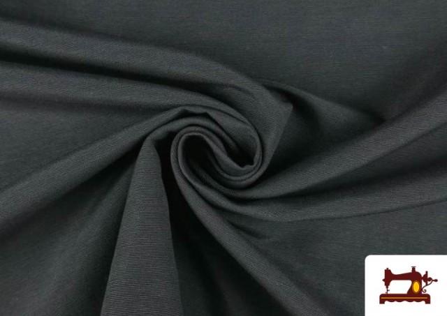 Vente de Tissu en Canvas de Couleurs couleur Gris foncé