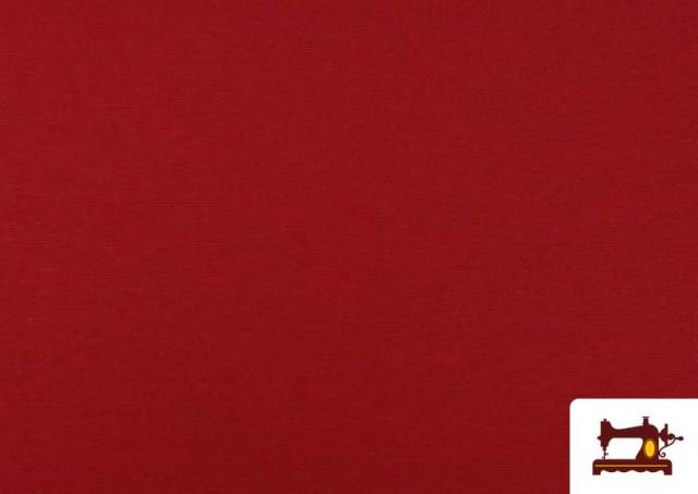 Vente en ligne de Tissu en Canvas de Couleurs couleur Rouge