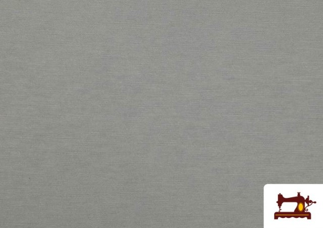 Acheter en ligne Tissu en Canvas de Couleurs couleur Gris clair
