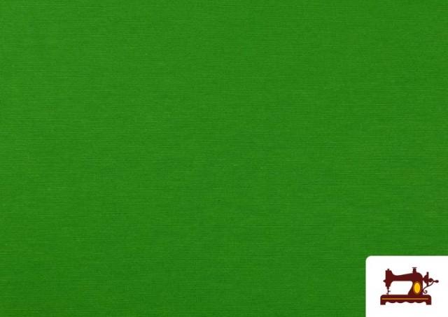 Tissu en Canvas de Couleurs couleur Vert