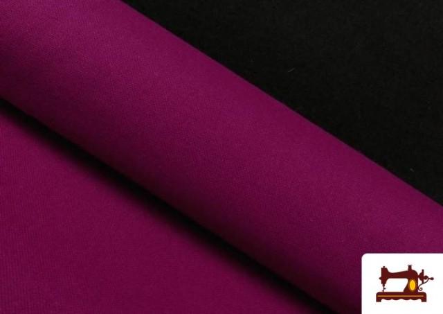 Tissu en Canvas de Couleurs couleur Bougainville