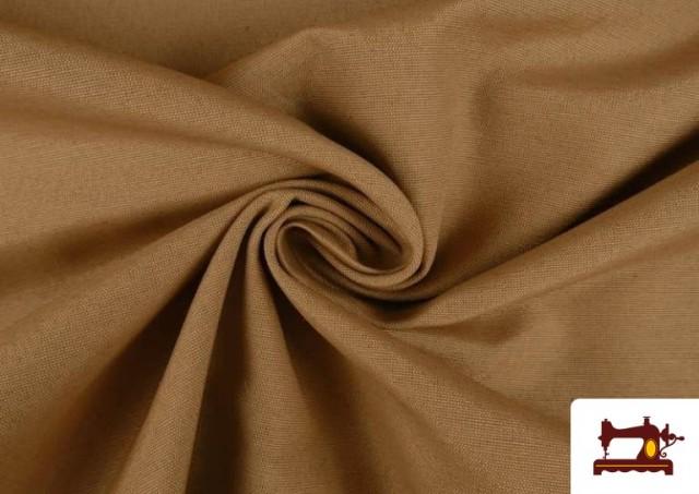 Tissu en Canvas de Couleurs couleur Bronzé