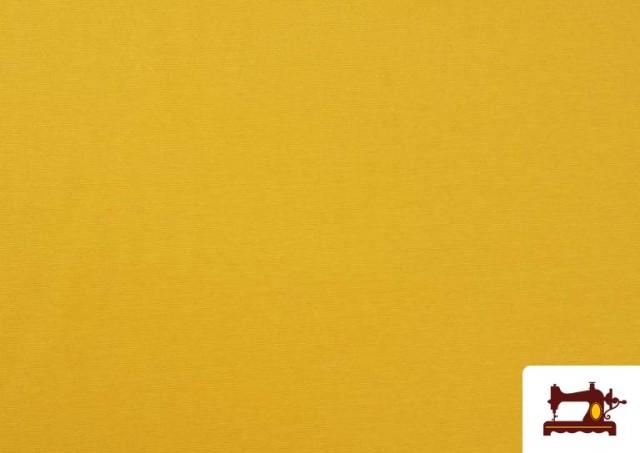 Tissu en Canvas de Couleurs couleur Jaune