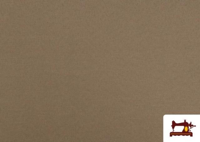 Acheter en ligne Tissu en Canvas de Couleurs couleur Beige