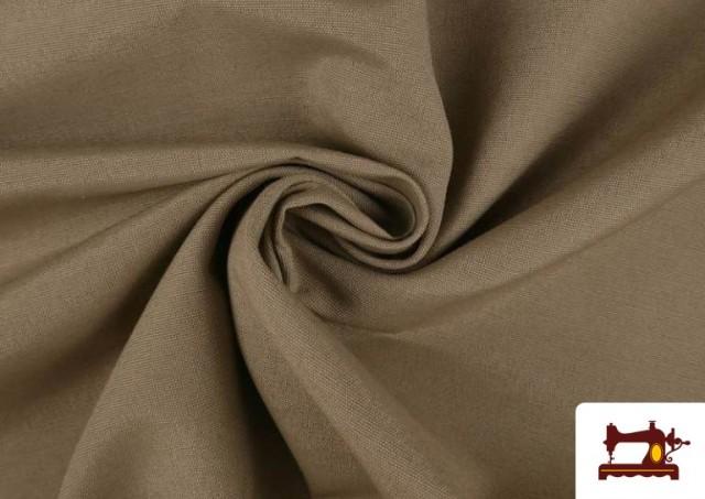 Vente en ligne de Tissu en Canvas de Couleurs couleur Beige