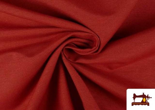 Vente de Tissu en Canvas de Couleurs couleur Tuile