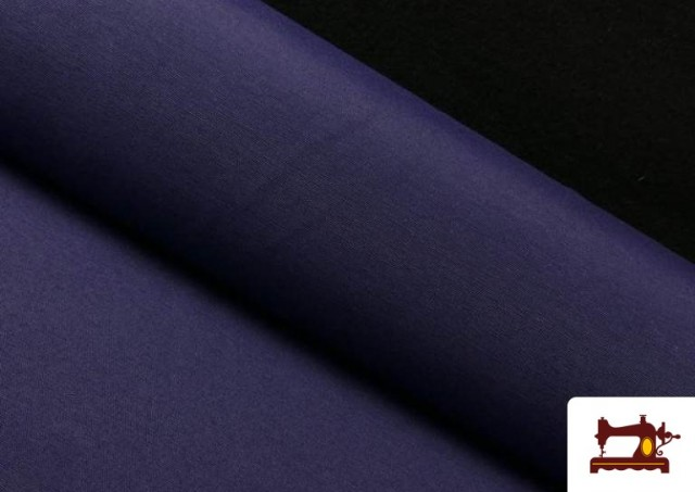 Acheter en ligne Tissu en Canvas de Couleurs couleur Bleu Marine