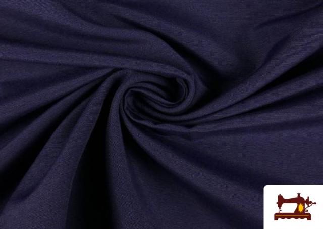 Tissu en Canvas de Couleurs couleur Bleu Marine