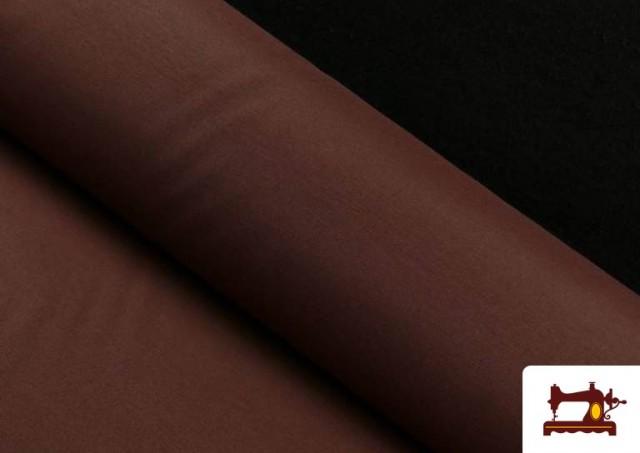 Tissu en Canvas de Couleurs couleur Brun